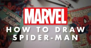 How to Draw Spider-Man LIVE!