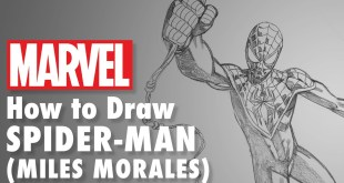 How to Draw Spider-Man (Miles Morales) with Mike Hawthorne! | En Español