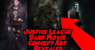 Justice League Dark Movie Concept Art Revealed!