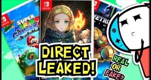 Next FULL Nintendo Direct STUFFED? | HUGE New Nintendo Switch LEAKS!