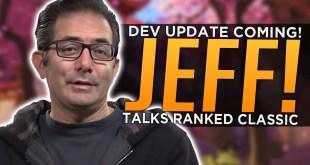 Overwatch: Jeff Talks Ranked Classic, Stun NERFS & 2CP Rework - Developer Update Coming!