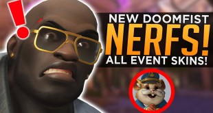 Overwatch: NEW Doomfist NERFS! - ALL Anniversary 2020 Event Skins!