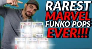 RAREST MARVEL FUNKO POPS