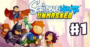 Scribblenauts Unmasked - Gameplay Walkthrough Part 1 - A DC Comics Adventure! (PC, Wii U, 3DS)