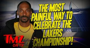 Snoop Dogg Gets New Lakers Championship Tattoo with Kobe Bryant Tribute   TMZ TV