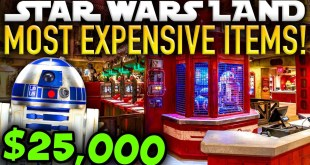 The MOST EXPENSIVE ITEMS in Star Wars Galaxy's Edge! - Disney News