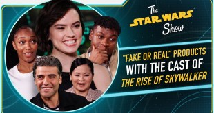 The Rise of Skywalker Cast Test Their Star Wars Merchandise Spotting Skills