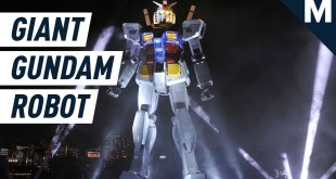 This Functional Life-Sized Gundam is Over 50 Feet Tall | Mashable