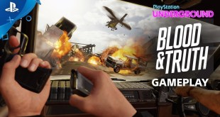 Blood & Truth - PS VR Gameplay | PlayStation Underground