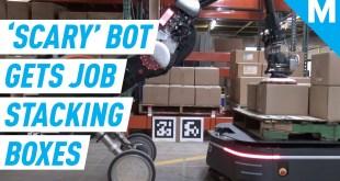 Boston Dynamics Robot Finally HAS A JOB | Mashable