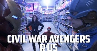 CIVIL WAR Avengers R Us - Epic Fan Made Action Film