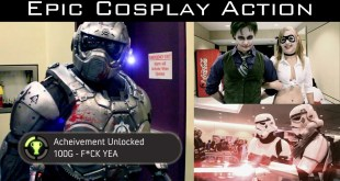 Epic Video Game Cosplay Action