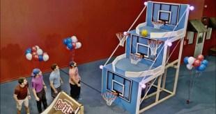 Giant Basketball Arcade Battle | Dude Perfect