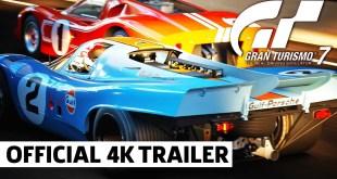 Gran Turismo 7 - Official 4K PS5 Announcement Trailer