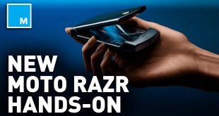 Hands On With The NEW Foldable Moto RAZR | CES 2020