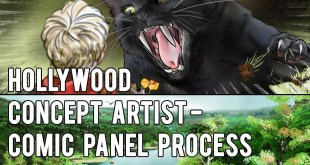 Hollywood Concept Artist - COMIC PANEL PROCESS