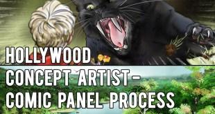 Hollywood Concept Artist - COMIC PANEL PROCESS