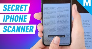 How To Use Your iPhone's Hidden Scanner | Mashable