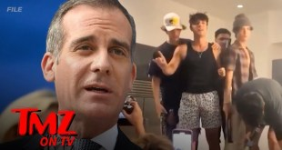 L.A. Mayor Garcetti Orders Power Shut Off At TikTok Influencer House | TMZ TV