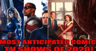 Most Anticipated Comic TV shows of 2020!