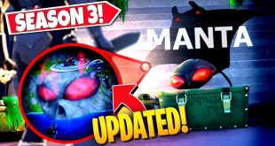 *NEW* EXPLORING UPGRADED BLACK MANTA *GROTTO* IN LATEST FORTNITE UPDATE! (Battle Royale)