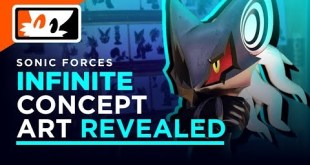 New Infinite Concept Art! Ian Flynn's Characters Won't Appear in IDW Sonic?