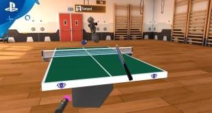 Racket Fury: Table Tennis VR - Online Multiplayer Update | PS VR