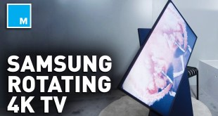 Samsung's New Vertical 4K TV ROTATES | CES 2020