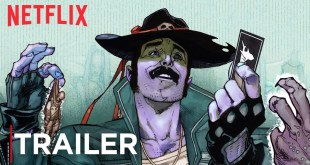 Sharkey The Bounty Hunter | Comic Book Trailer [HD] | Netflix