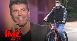 Simon Cowell Breaks His Back On Electric Bike, 'AGT' Judges Respond | TMZ