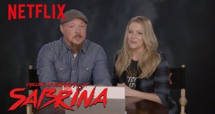 The Cast of Sabrina The Teenage Witch Reacts to Chilling Adventures of Sabrina | Netflix