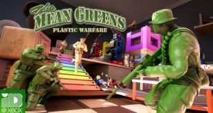 The Mean Greens - Plastic Warfare Xbox Launch Trailer