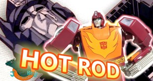 Transformers Masterpiece Hot Rod MP-28 Review