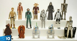 10 Most EXPENSIVE Star Wars Toys | LIST KING