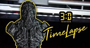 3D Printer Timelapse - DC Comics Brainiac 4K  (ORIGINAL PRUSA i3 mk3)