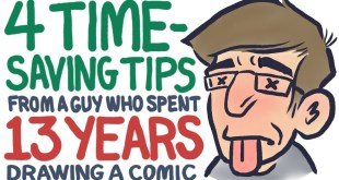 4 Time-Saving Tips (from a guy who spent 13 YEARS drawing a comic)