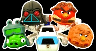 Angry Birds Dark Side Knock Off Toys Ep 3 Star Wars AT-AT Cookie Monster Strikes Back Attack