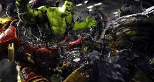 """""""Avengers: Endgame"""" & """"Avengers: Infinity War"""" Unused Official Concept Art - Hulk & Bruce Banner"""