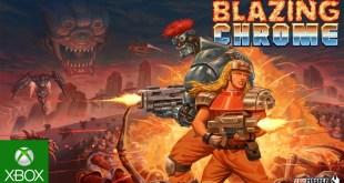 Blazing Chrome - Release Trailer