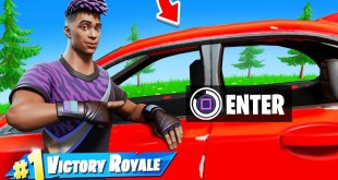 Fortnite ADDED ME into the GAME! (Cars Update)