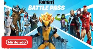 Fortnite Chapter 2 - Season 4 Battle Pass Gameplay Trailer - Nintendo Switch