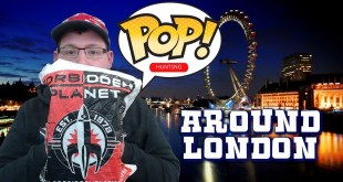 Funko Pop Hunting UK around London