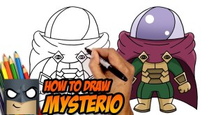 HOW TO DRAW MYSTERIO | SPIDER-MAN FAR FROM HOME