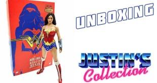 Hot Toys Wonder Woman Comic Concept Version Unboxing - Justice League