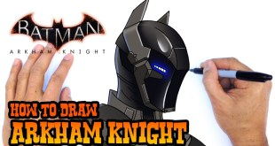 How to Draw Arkham Knight | DC Comics