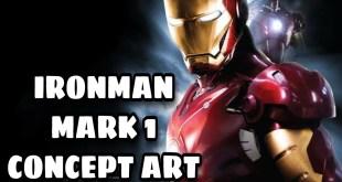 IRONMAN MARK 1 CONCEPT ART | ROBERT DOWNEY JR.| MARVEL STUDIOS | RYAN MEINERDING ART |