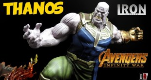 Iron Studios THANOS Avengers Infinity War Review BR / DiegoHDM