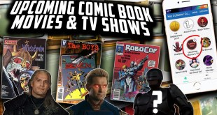 New & Upcoming Comic Book Movies & TV Shows // True Firsts and Key Issues // RoboCop is Rebooting?