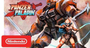 Panzer Paladin - Launch Trailer - Nintendo Switch
