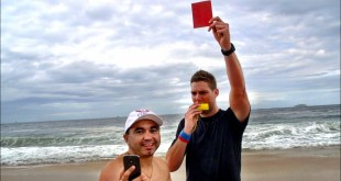 dude perfect red cards in rio Prank video funny brazil
